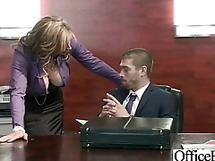 Horny Girl (eva notty) Near Big Juggs Hard Banged In Office mov-15