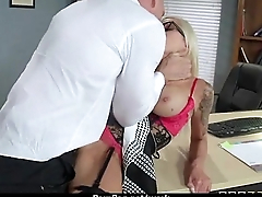 Office slut gets a good fuck to release stress 5
