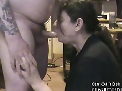 Amateur MILF Pleasing Husband'_s Cock