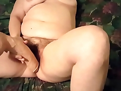 Part3 My wife using a unselfish dildo and say no to vibrator for a good orgasm
