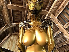 The female Argonian and Demis Episode 2