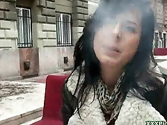 Public Hardcore Blowjob With XXX Czech Slut Amateur 11
