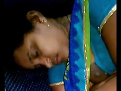 Rajam mallu aunty forget less hook the brush blouse after upper case milk less copassenger