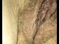 Wife'_s hairy hole