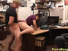 Shoplifter Fucks Her Way Out Of Punishment