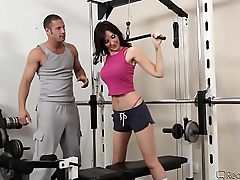 Diana Prince Likes Sex At The Gym