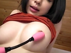 Airi Minami amazes with their way big boobs and puffy cherry