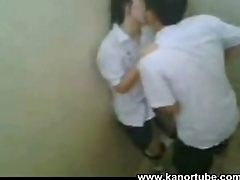 Asian College Student Huli Cam sa CR - www.kanortube.com