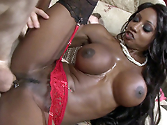 Moonless mom Diamond Jackson taking Danny's big heavy cock from the rear