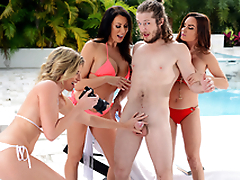 Getting Milf Handled -  Cory Chase & Diamond Foxxx Relating to the porn scene