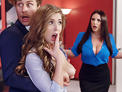 Brazzers - Porn Disagreement - Angela White & Lena Paul Porn