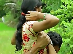 Sexy Indian desi girl fucking romance alfresco sex - xdesitubes.com