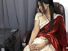 Indian Aunty seducing her nephew POV to Tamil