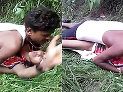Today Exclusive- Desi Randi Outdoor Sex With Customer