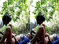 Today Exclusive- Desi Girl OutDoor Fucking