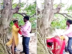 Today Exclusive- Desi Village Lover OutDoor Shafting Part 1