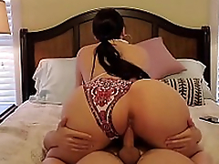 Mom with gigantic ass brings the pervert to the bedroom be useful to XXX action