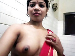Desi XXX - Big Ass Punjabi Bhabhi Taking Shower Wafer Her Pussy