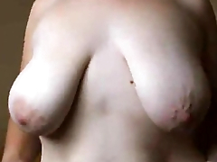 OMG CHICK WITH VERY SEXY SHAPE BOOBS AMAZING