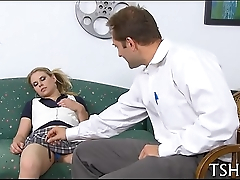 Opprobrious after-school fuck