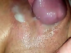 Milf'_s Shaved Pussy Squirts Like a Fountain