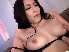 Sera Ichijo ends her fuck session with a warm creampie