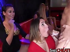 Nymphos Suck Male-Strippers