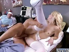 Low-spirited Patient (laura bentley) Get Seduced And Banged By Doctor vid-14