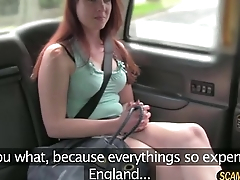 New redhead hot chick gets fucked hard by Scottish horseshit
